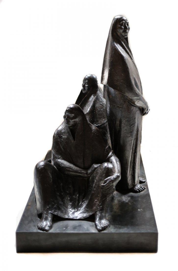 Armando Amaya (Mexican, 1935) Bronze Sculpture - 3