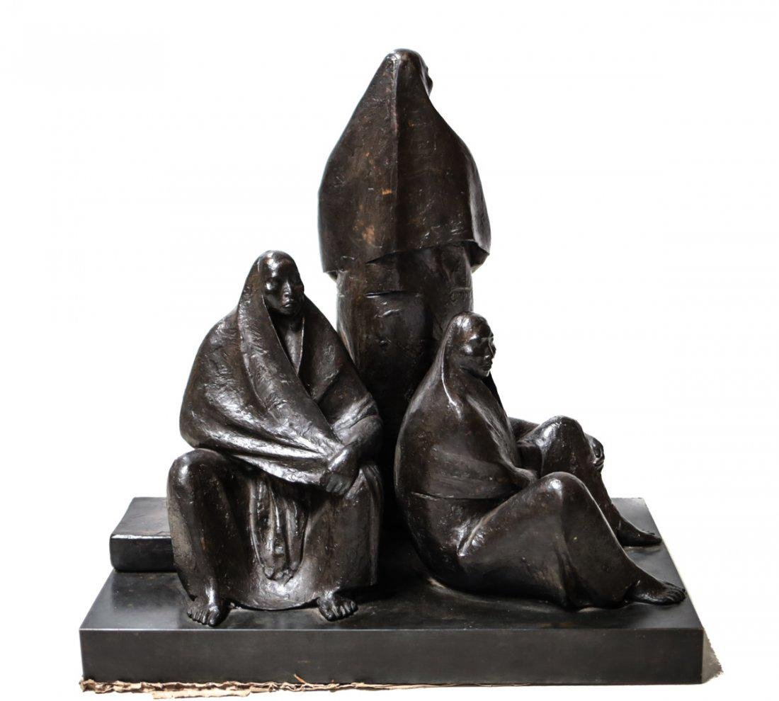 Armando Amaya (Mexican, 1935) Bronze Sculpture - 4