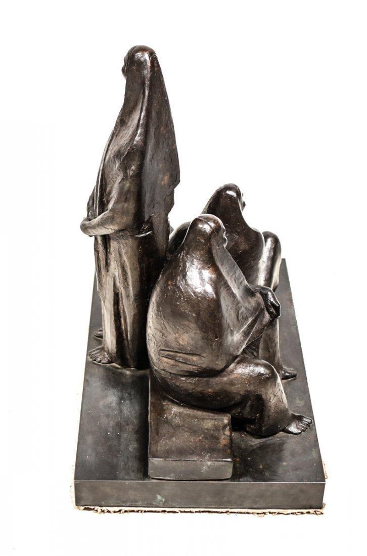 Armando Amaya (Mexican, 1935) Bronze Sculpture - 5