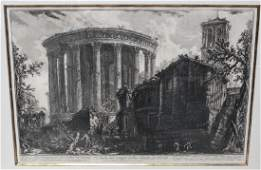 Giovanni Piranesi Italian Lithograph, 18th Century