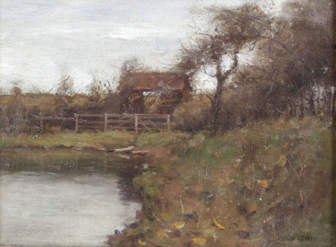 Gustav Wolff (German 1863-1935) Oil On Canvas