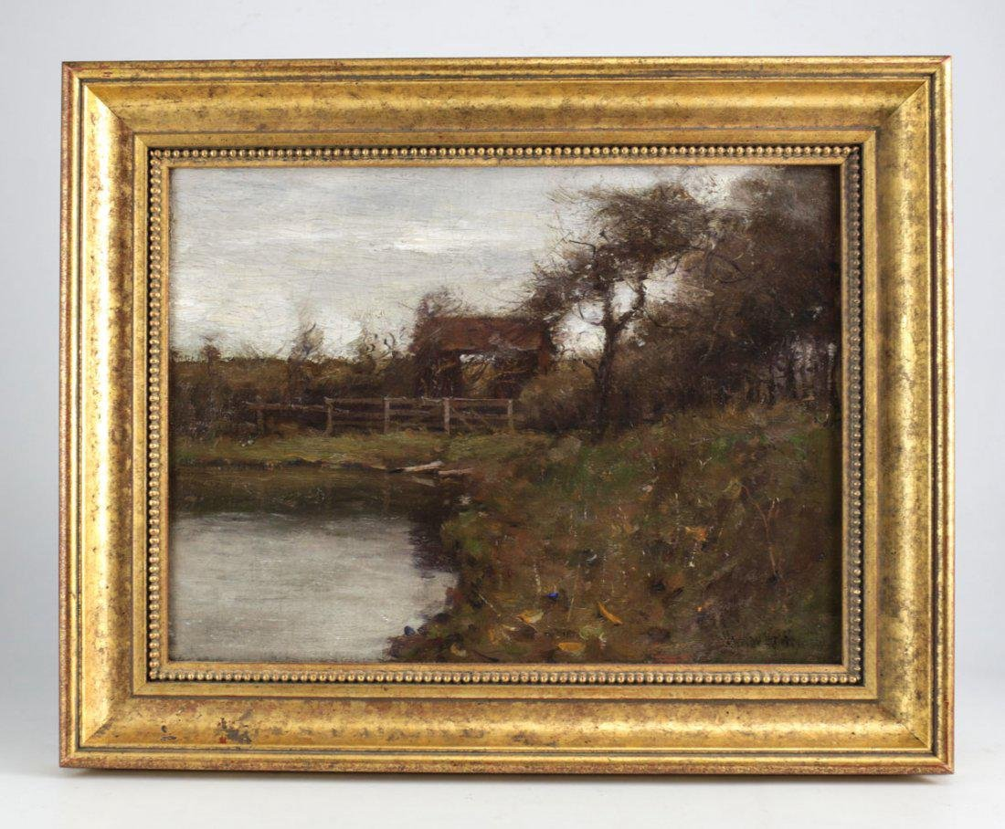 Gustav Wolff (German 1863-1935) Oil On Canvas - 3