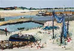 Yolande Adrissone French 1937 Oil on canvas