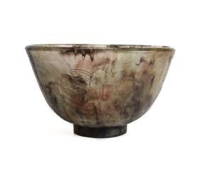 Decorchemont Pate De Verre Art Glass Bowl