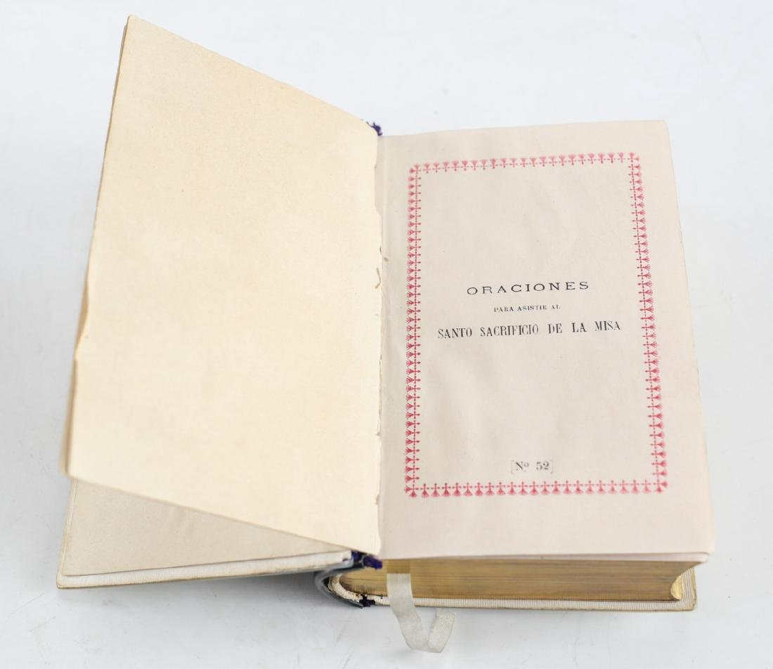 Mother of Pearl Covered French Prayer Book - 4