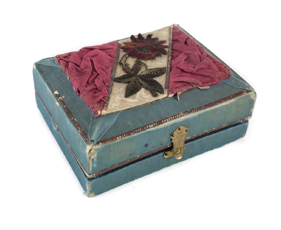 Mother of Pearl Covered French Prayer Book - 6