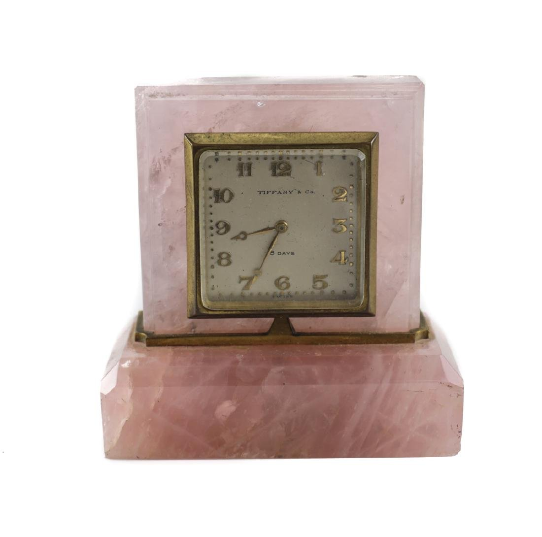 Tiffany & Co. Travel Desk Clock