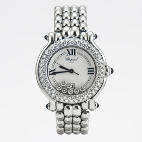 Chopard Happy Sport Classic Diamond Quartz Watch
