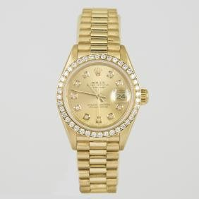 Rolex Oyster Perpetual Datejust Ladies President