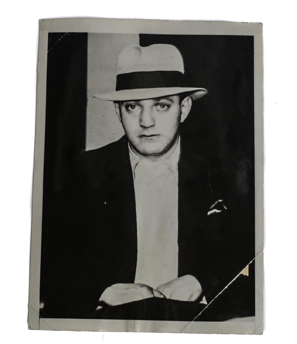 Black & White Photo of Dutch Schultz, United Press