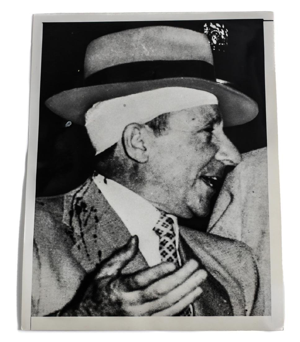Black & White Photo of Frank Costello, Wide World
