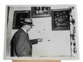 Black & White Photo of Sgt. John Hankins, World Wide