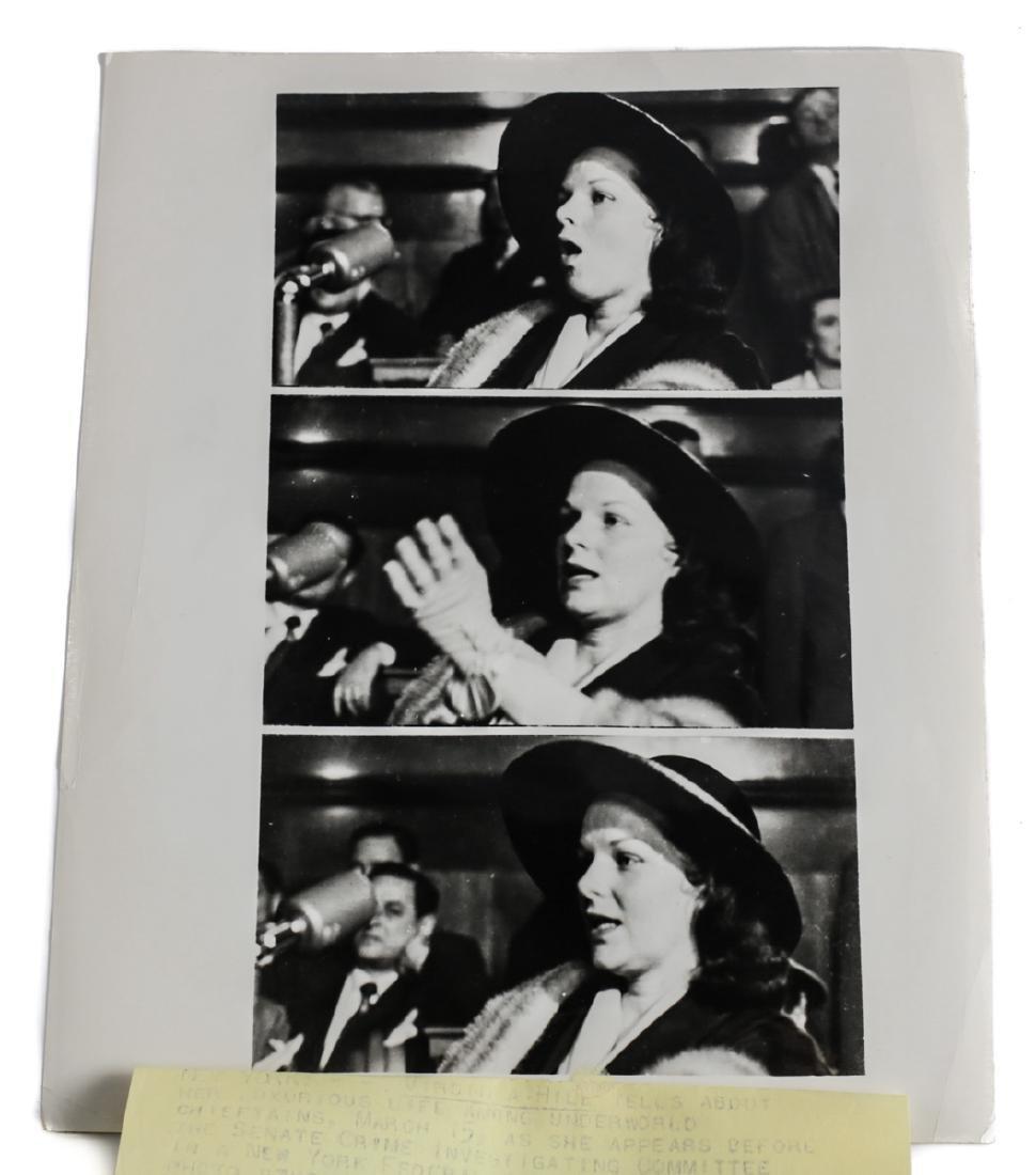 Black & White Photo of Virginia Hill, United Press