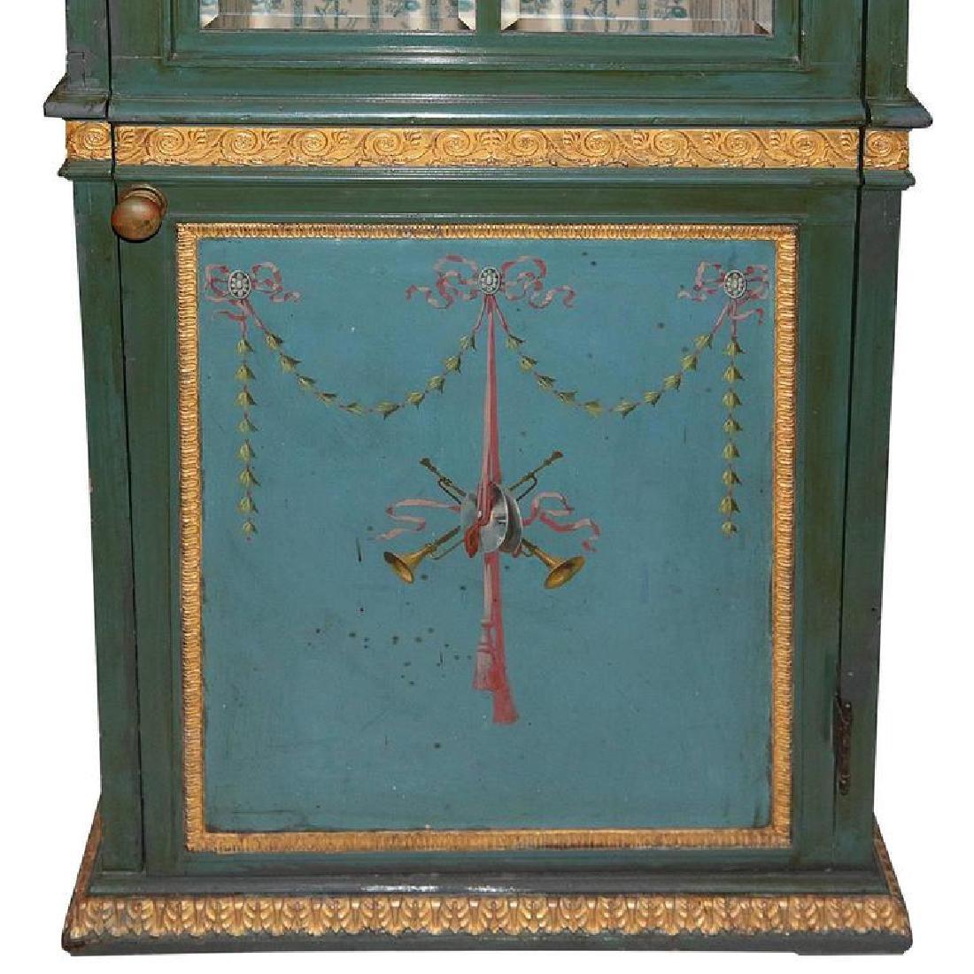 19th Century Venetian Giltwood Hand-Painted Sedan Chair - 6