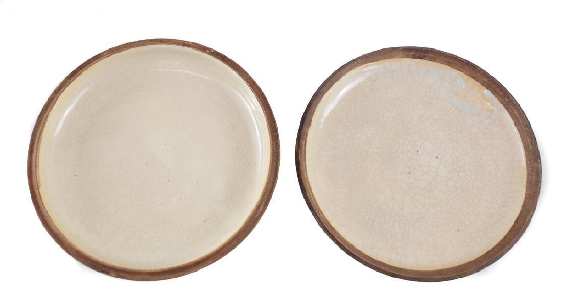 Chinese Porcelain Seal Paste Box - 2