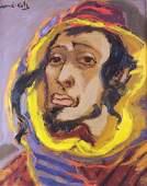 Mane-Katz (Israeli, 1894-1962) Oil on canvas