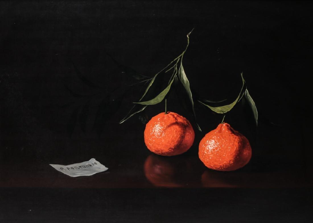 P. Forunato (Italian, 20th Century) Oil on canvas