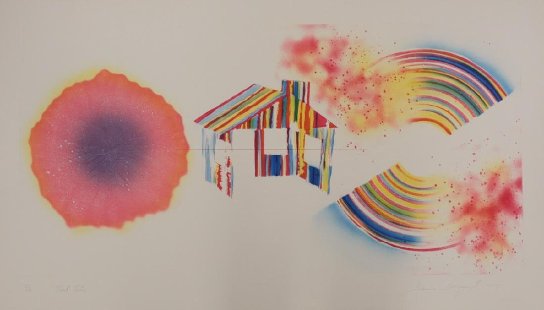 James Rosenquist Print, Hot Lake, 1st State