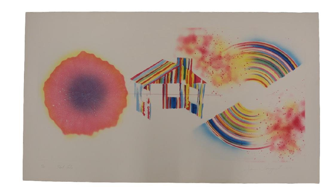 James Rosenquist Print, Hot Lake, 1st State - 2