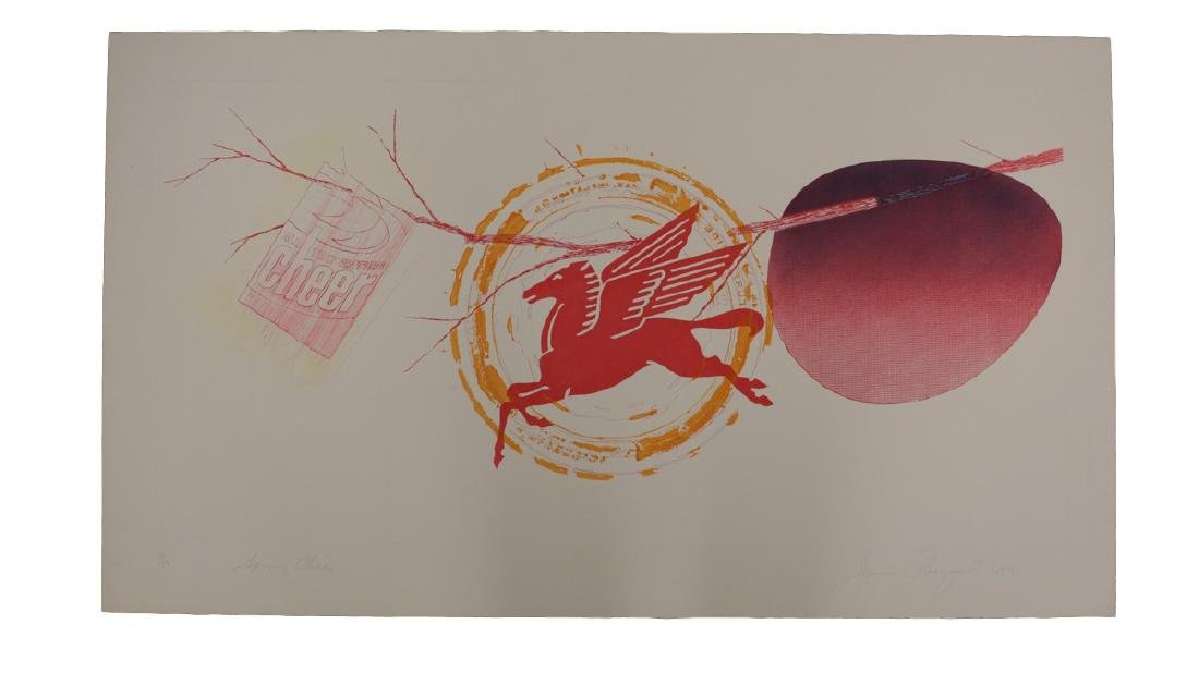 James Rosenquist Print, Spring Cheer, 1st State - 2