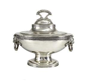 19th Century Sterling Silver Tureen by Tiffany & Co.