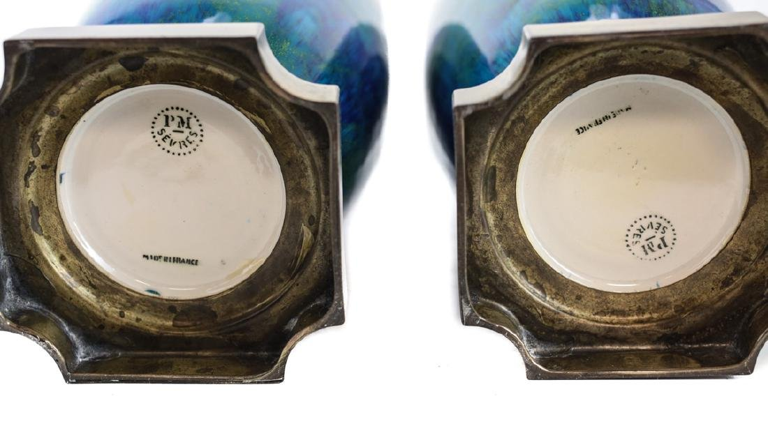Pair of Paul Millet for Sevres Vases - 4