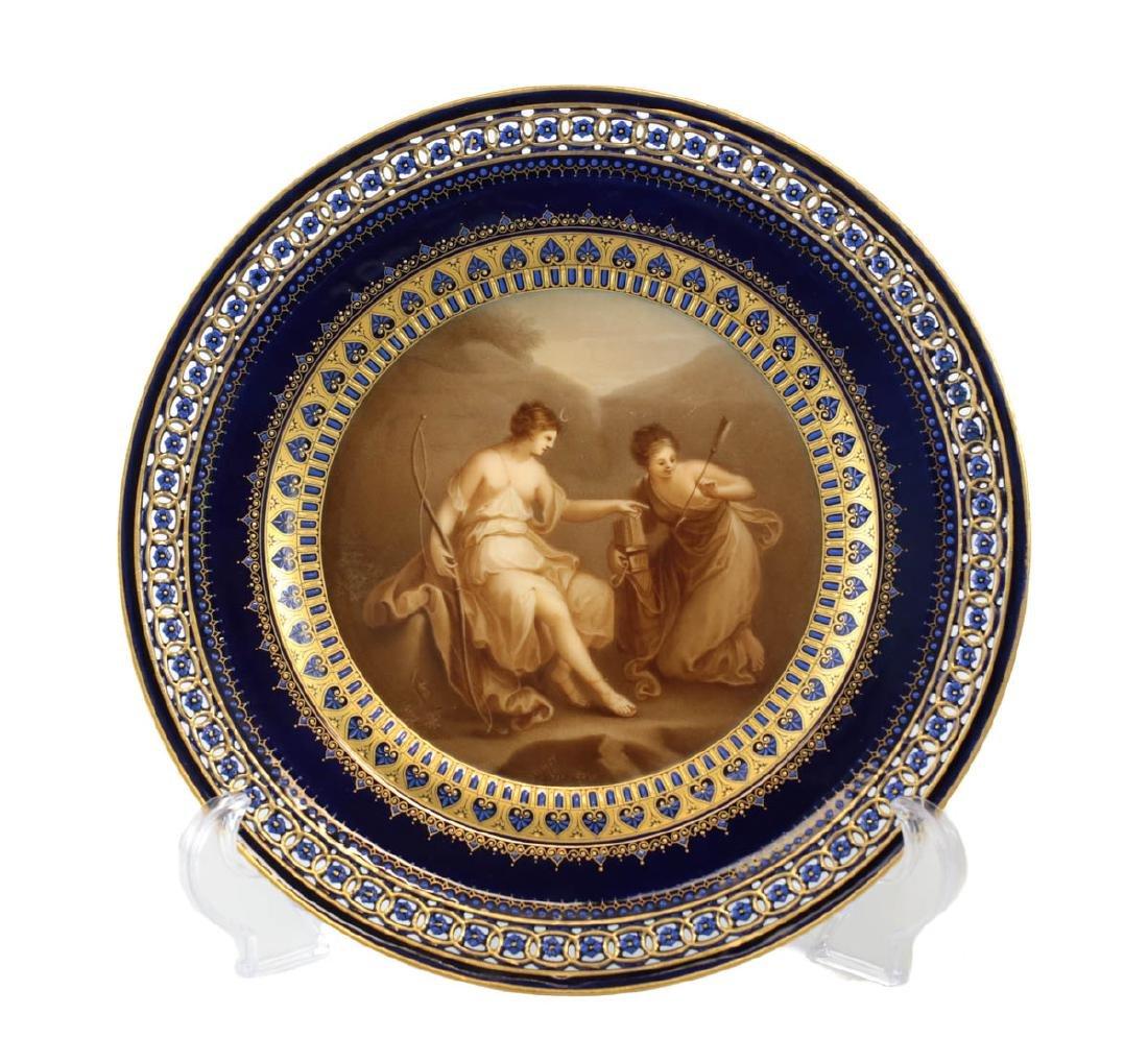Meissen Porcelain Cabinet Plate
