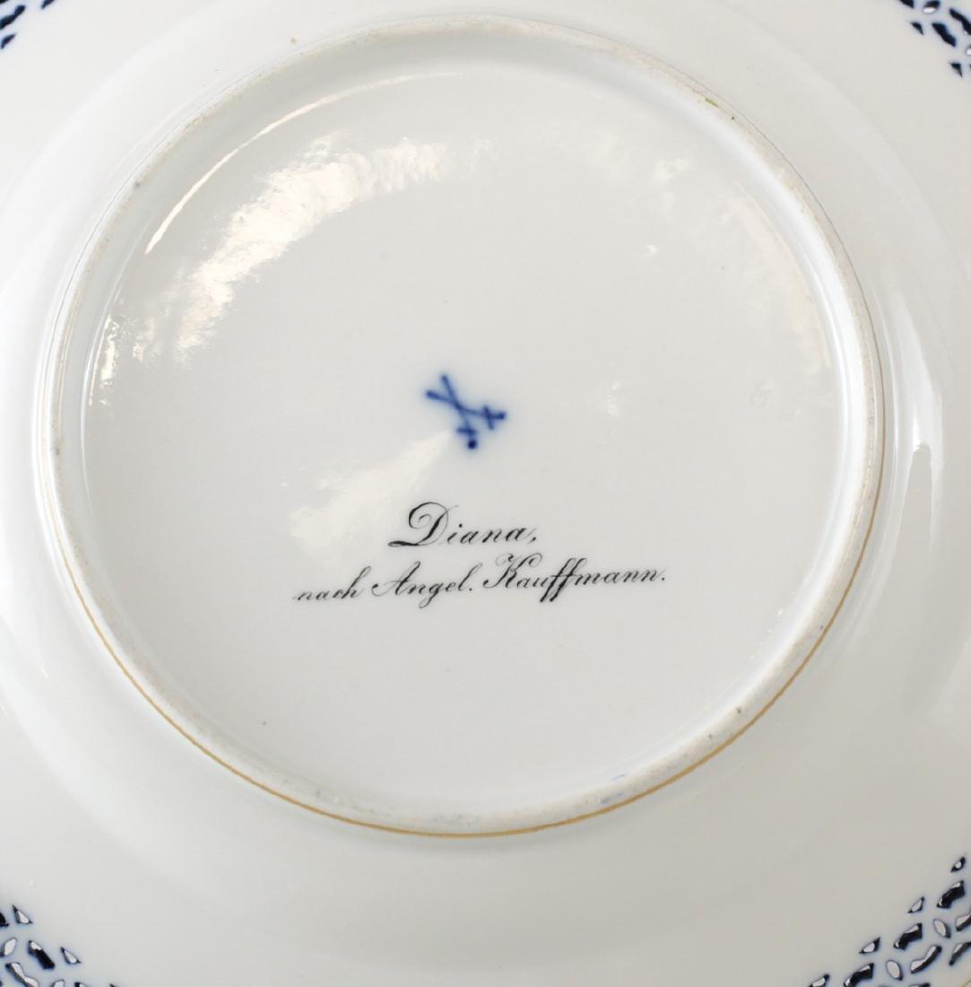 Meissen Porcelain Cabinet Plate - 3
