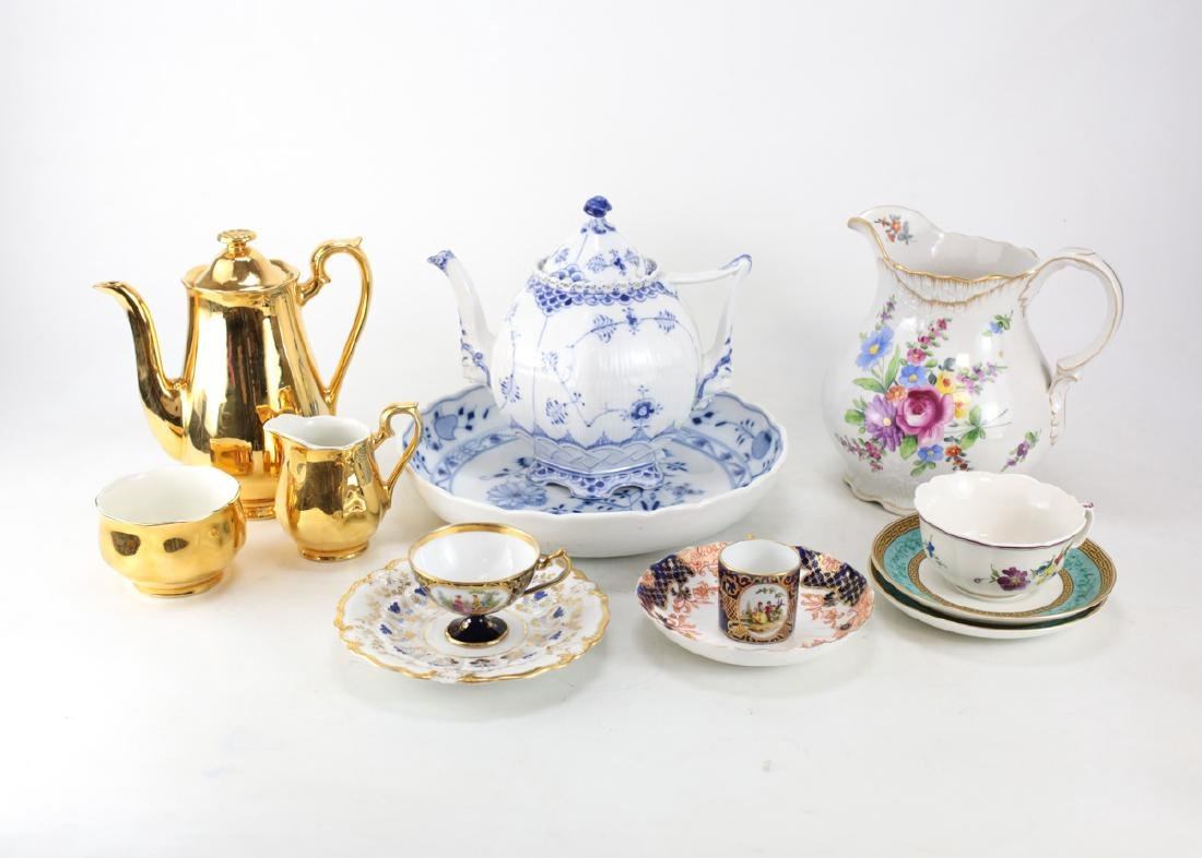 Miscellaneous Mixed Group of Porcelain