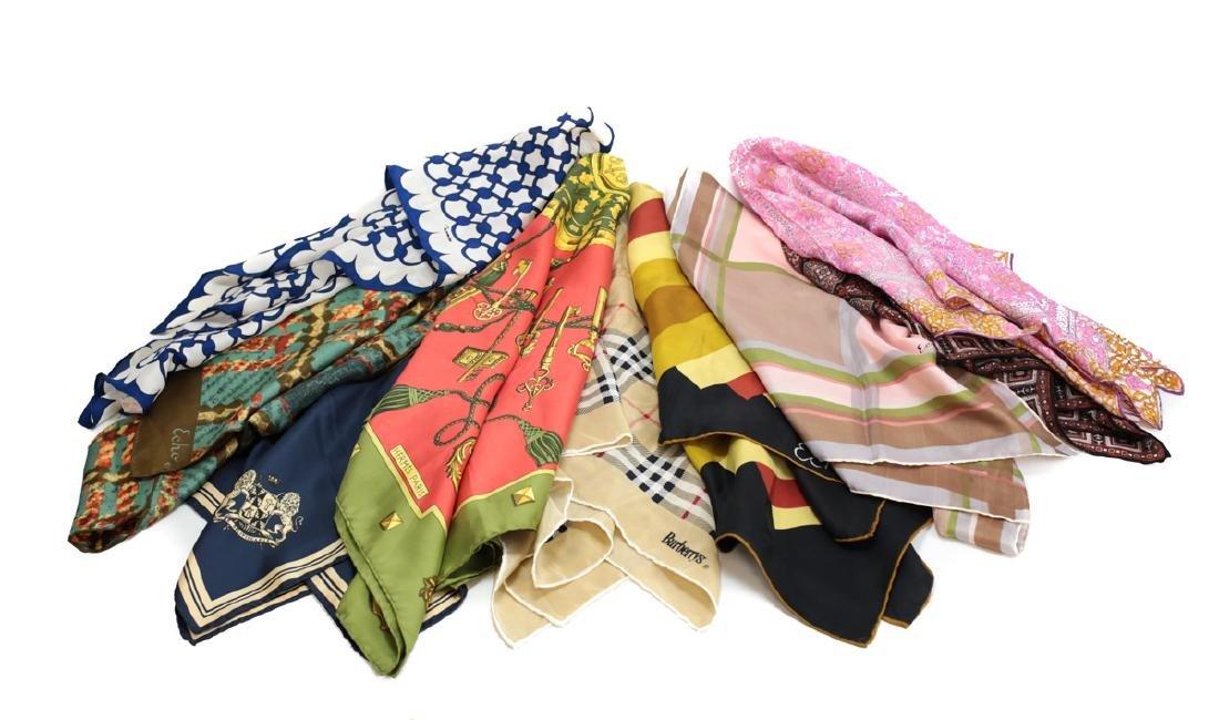 Designer Silk Scarves
