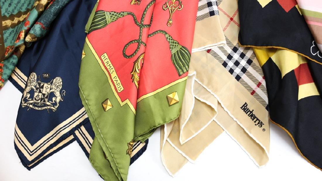 Designer Silk Scarves - 2