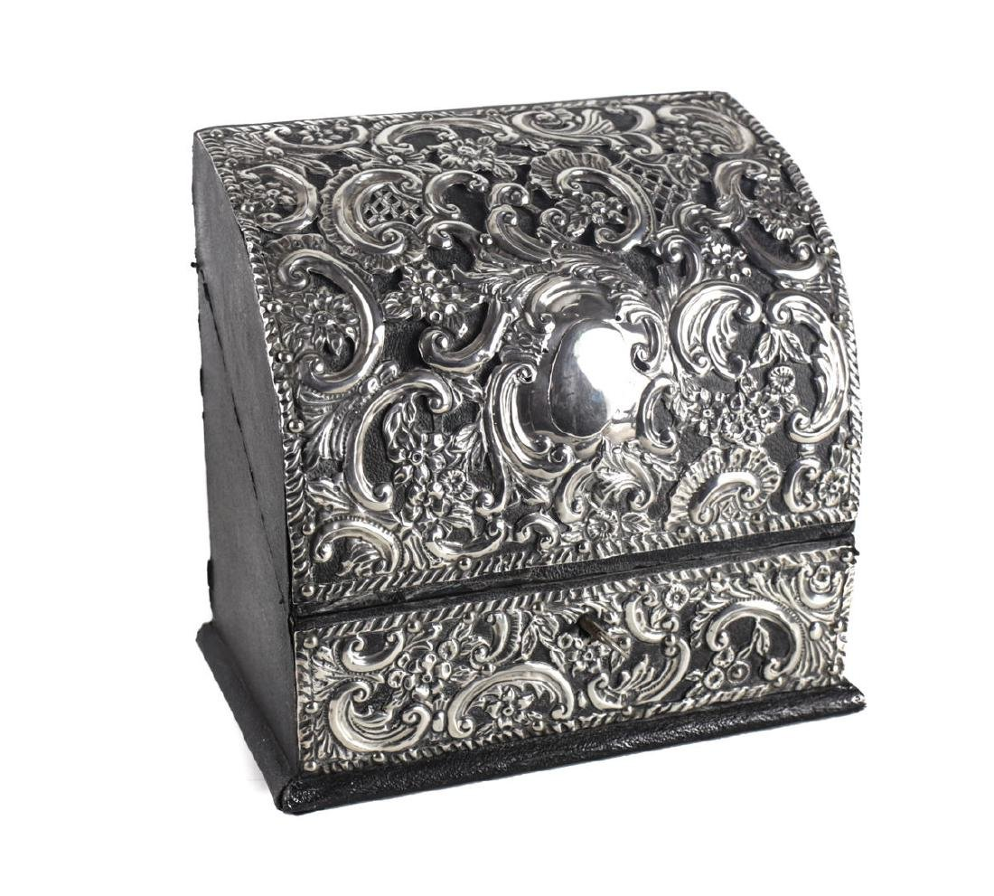 Grey & Co. London Sterling Silver Mounted Desk Letter