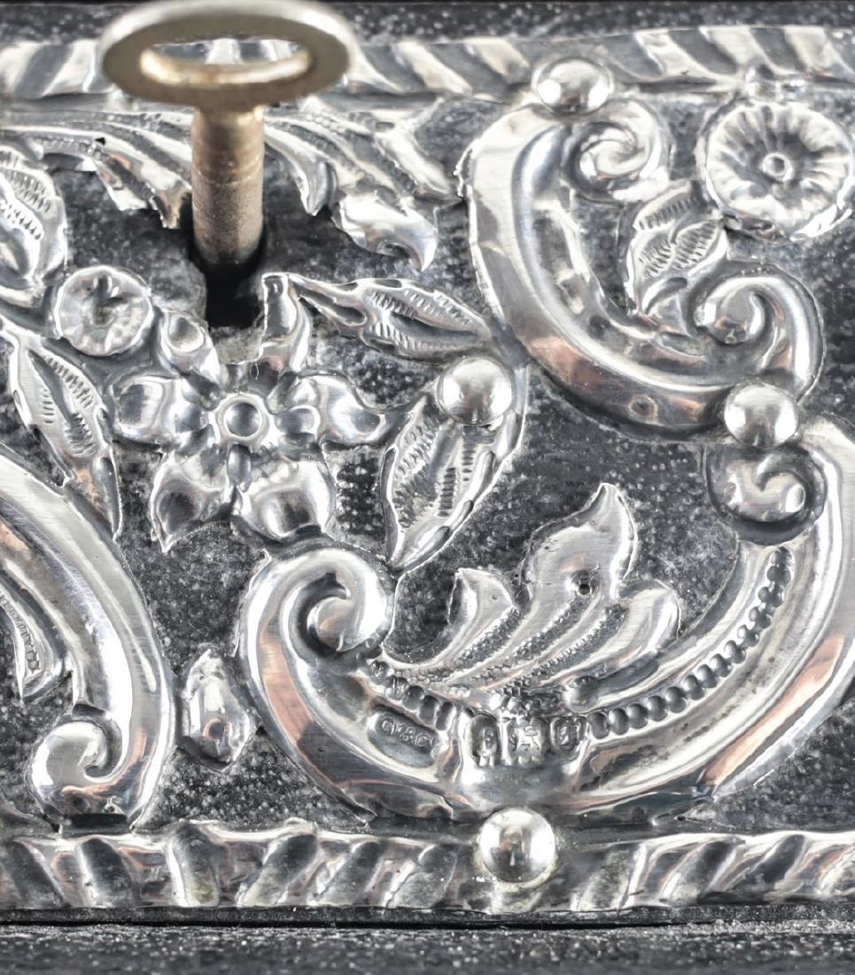 Grey & Co. London Sterling Silver Mounted Desk Letter - 5