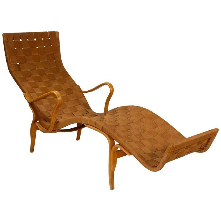 Mid-Century Modern Lounge Chair by Bruno Mathsson