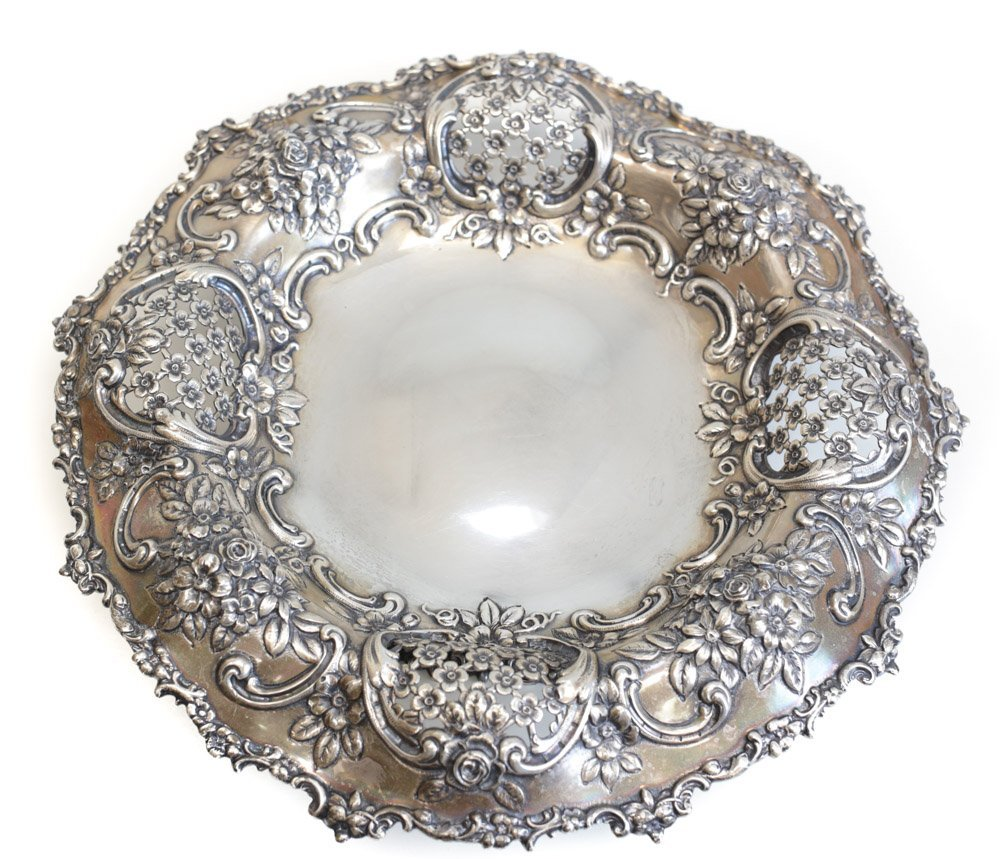 Tiffany Sterling Silver Center Bowl