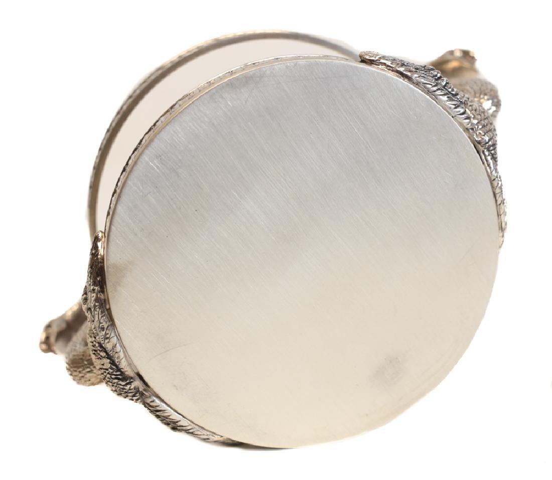 Swan Form Silver & Glass Jar by Gianmaria Buccellati - 5