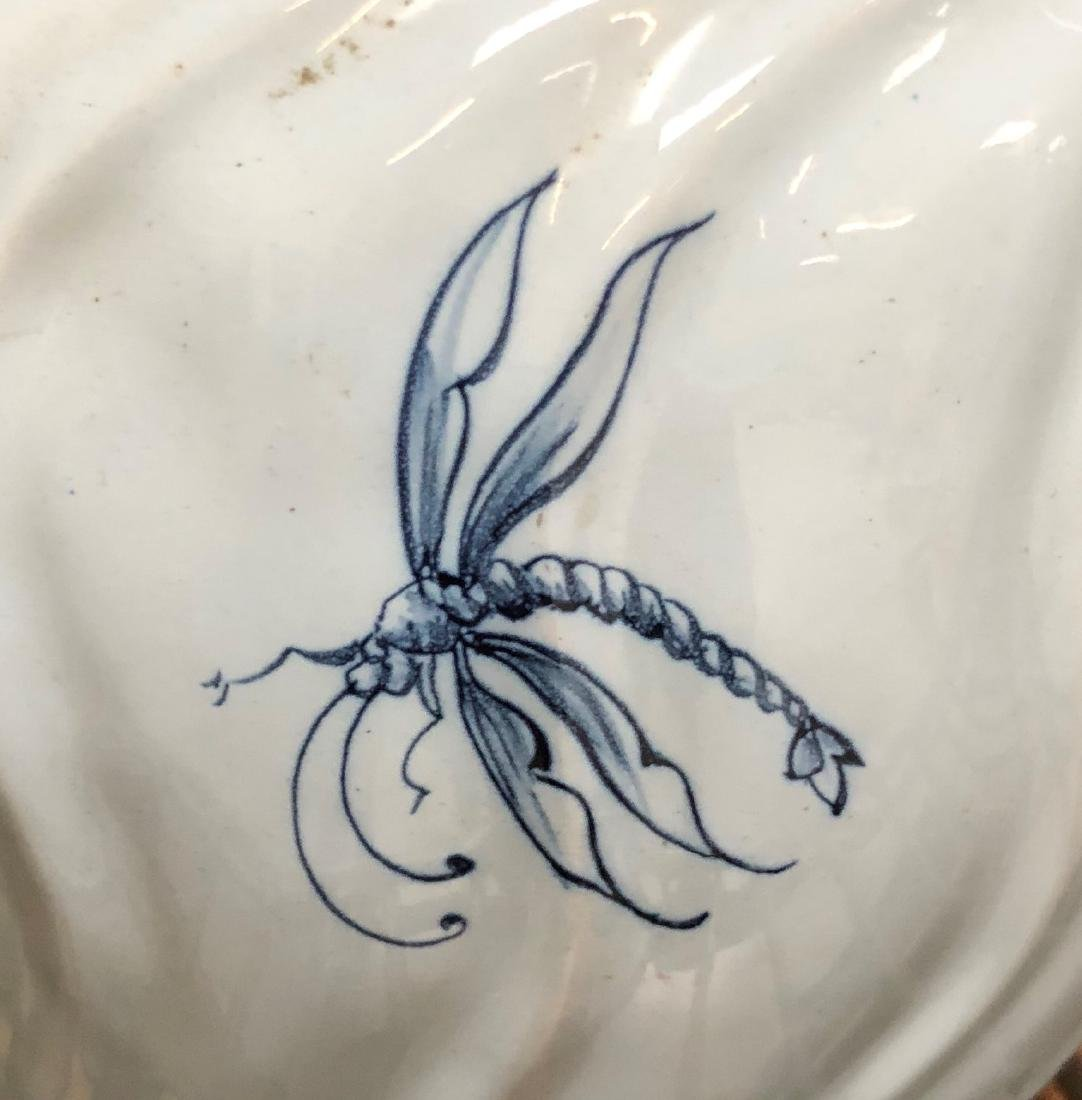 French Emile Galle Faience Vase - 6