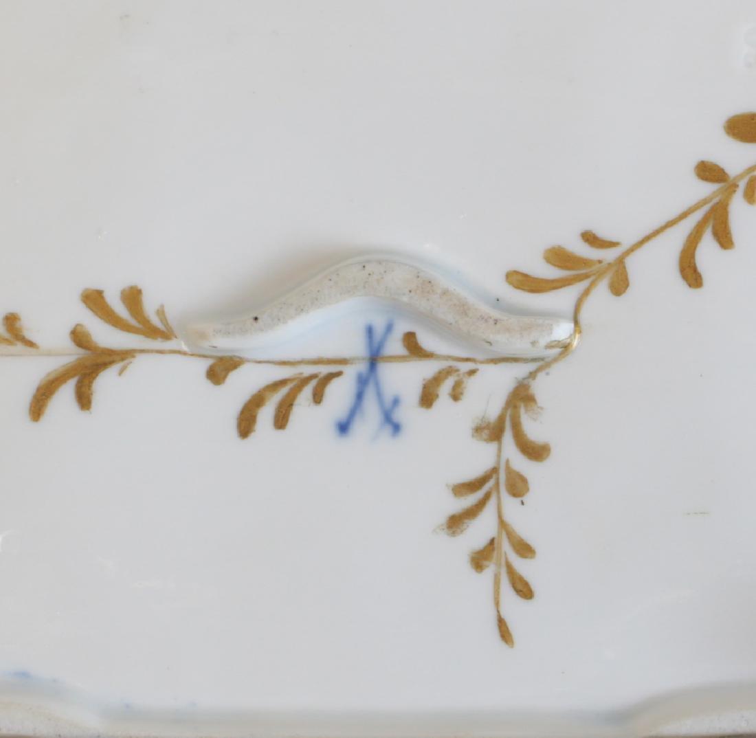 Meissen Porcelain Inkwell - 3