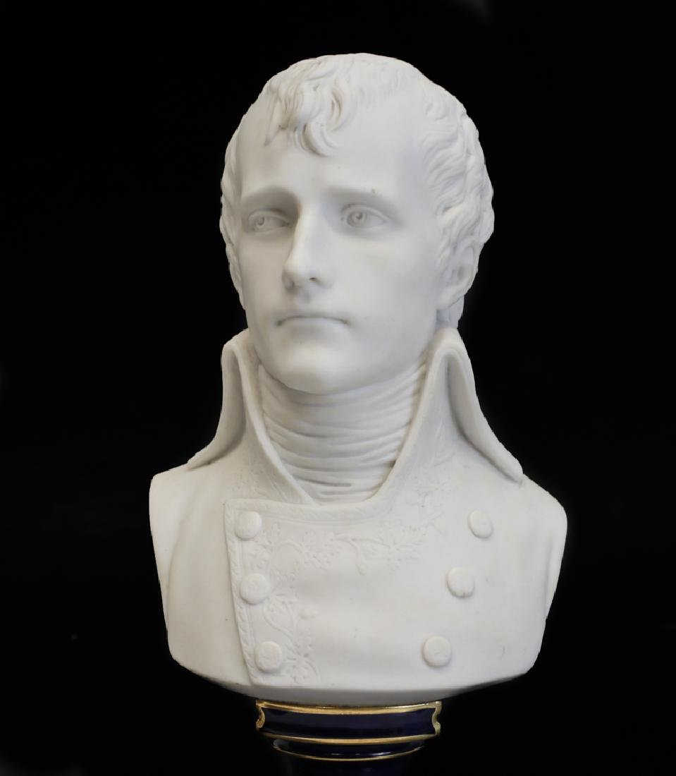 Sevres Porcelain Bust of Napoleon