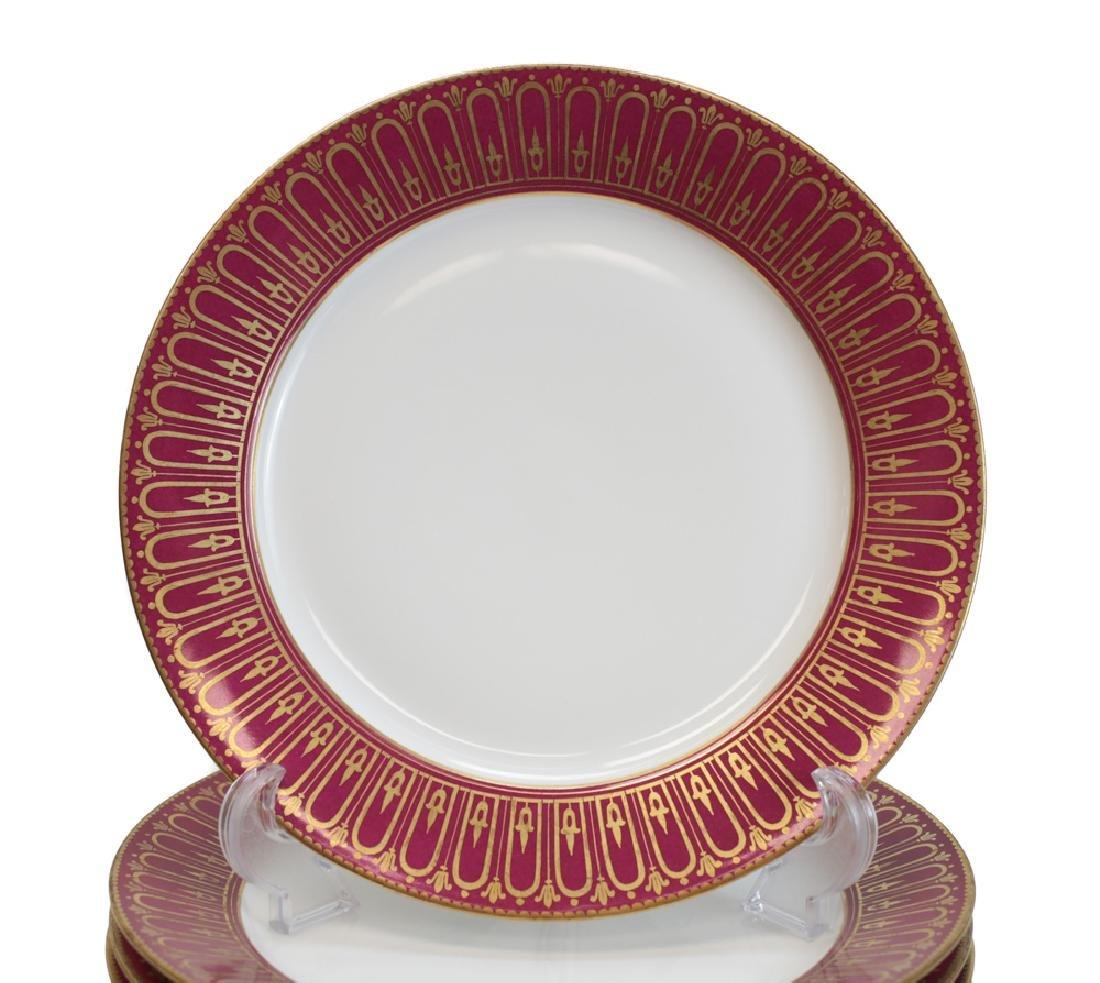 11 Sevres Porcelain Dinner Plates