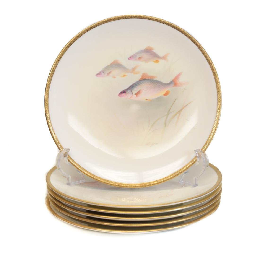Royal Doulton Fish Decorated Plates