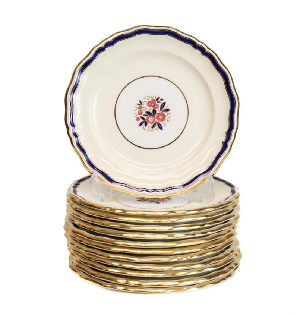 Minton Bread Plates for Tiffany