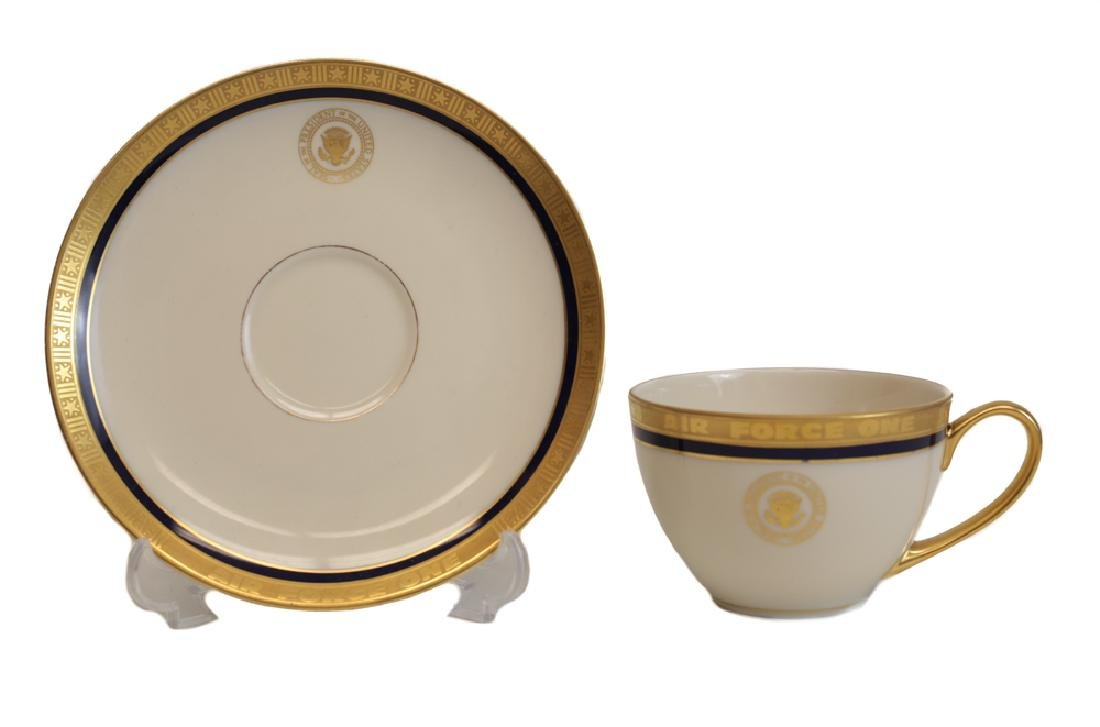 Presidential China From Air Force One, Charlton Heston