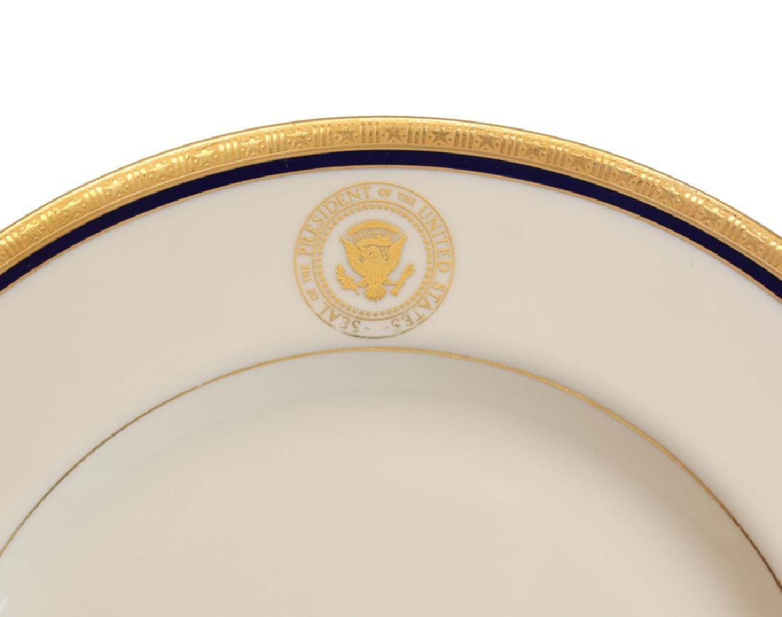 Presidential China From Air Force One, Charlton Heston - 2