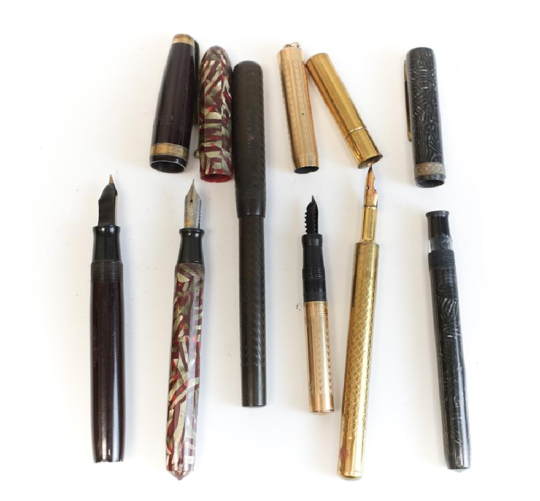 Group of Fountain Pens
