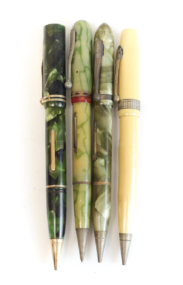Group of Fountain Pen & Pencil Combos
