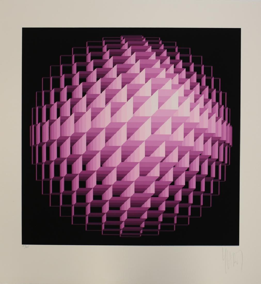 Yvaral, Jean Pierre 1932-2002 Sphere Serigraph