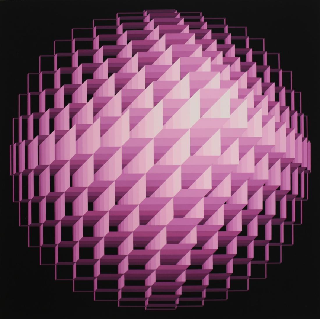 Yvaral, Jean Pierre 1932-2002 Sphere Serigraph - 2