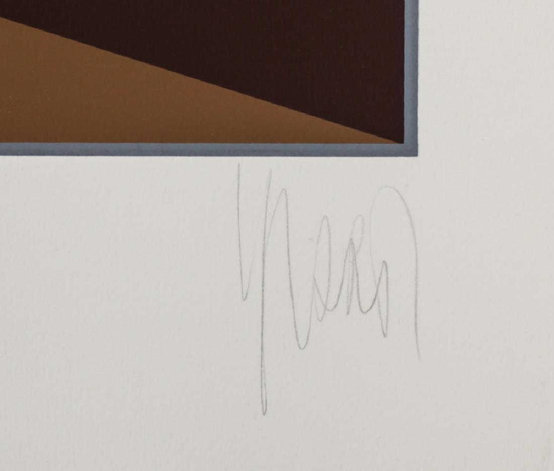 Yvaral, Jean Pierre 1932-2002 Horizon Serigraph - 3