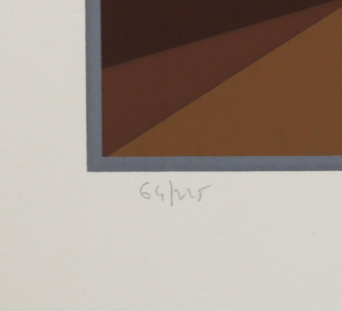 Yvaral, Jean Pierre 1932-2002 Horizon Serigraph - 4